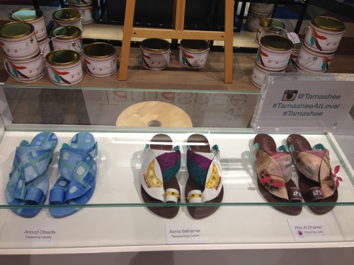 The Painted Tamashee Sandals On Auction
