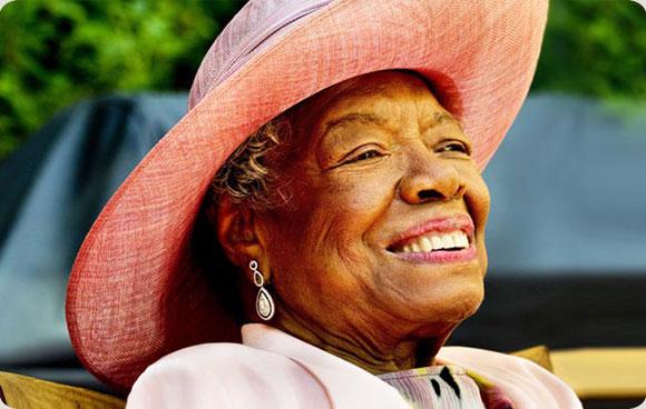 Picture taken from Maya Angelou's Official Website (http://mayaangelou.com/)