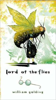 """Lord of the Flies"" Book Cover by Sir William Golding, published by Turtleback books on 1999"