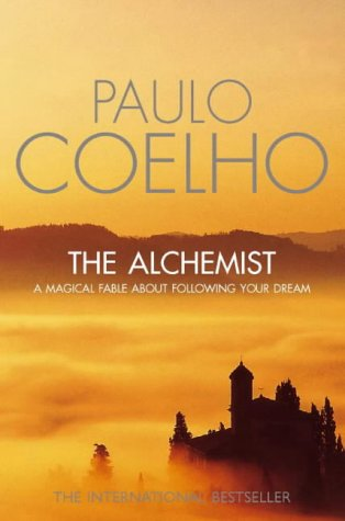 """The Alchemist"" book cover, published by Harper Collins, 2002 edition."