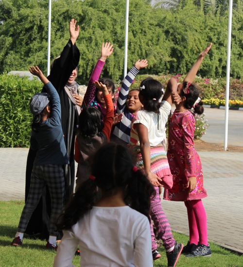 Picture provided by Sharjah Girl Guides (SGG)