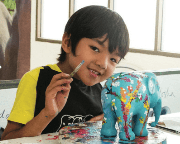 Save the Asian Elephant, Let's Paint a Brighter Future!
