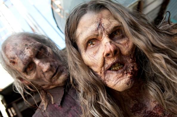 Walkers - The Walking Dead - Season 3, Episode 13 - Photo Credit: Gene Page/AMC