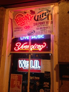 Brony bar signs. Genius.
