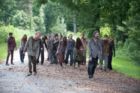 Walkers - The Walking Dead _ Season 4, Episode 6 - Photo Credit: Gene Page/AMC