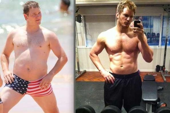Star-Lord has been been doing P90X!