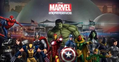 The Marvel Experience Header