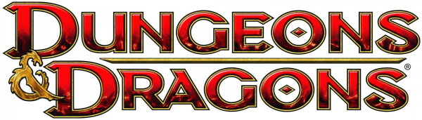 The Dungeons and Dragons logo.