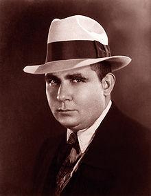 Robert E. Howard: creator of Conan the Barbarian... dude looks like Al Capone.