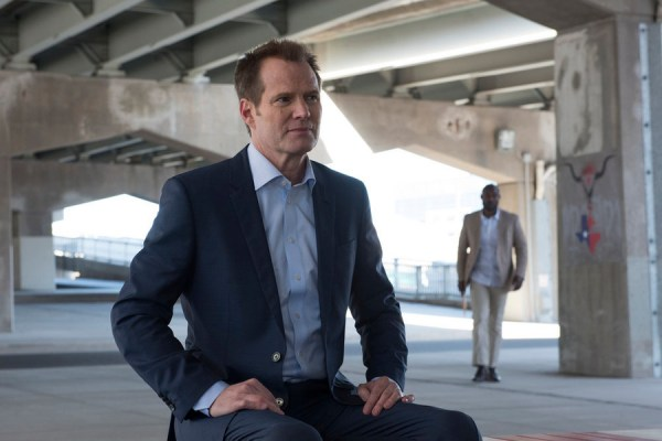 "HEROES REBORN -- ""Brave New World / Odessa"" Episode 101/102 -- Pictured: (l-r) Jack Coleman as HRG, Jimmy Jean-Louis as The Haitian -- (Photo by: Christos Kalohoridis/NBC)"