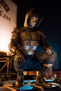 "HEROES REBORN -- ""Brave New World / Odessa"" Episode 101/102 -- Pictured: (l-r) Marco Grazzini as Oscar/El Vengador -- (Photo by: Christos Kalohoridis/NBC)"