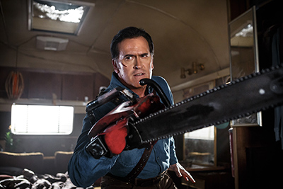 Bruce Campbell: it's good to be back
