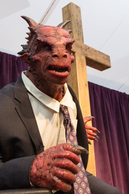 """GRIMM -- """"The Believer"""" Episode 516 -- Pictured: Brady Romberg as Dwight stunt creature -- (Photo by: Scott Green/NBC)"""