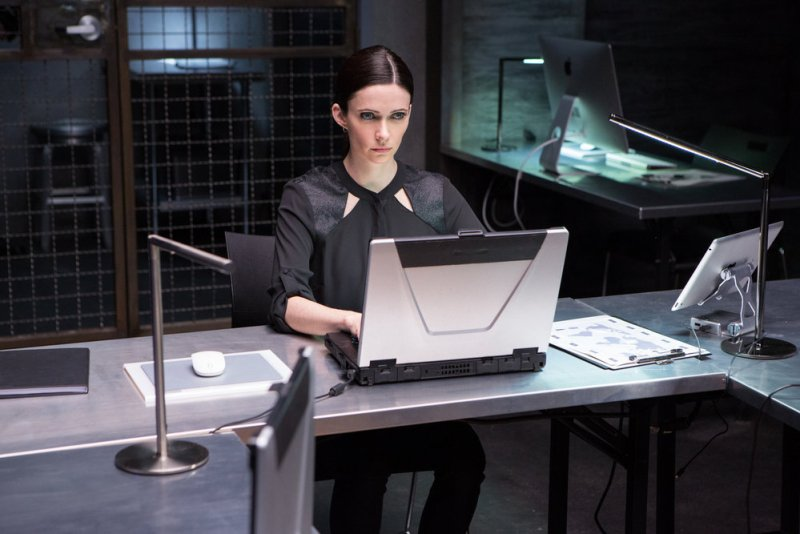 """GRIMM -- """"Good to the Bone"""" Episode 518 -- Pictured: Bitsie Tulloch as Juliette Silverton -- (Photo by: Scott Green/NBC)"""