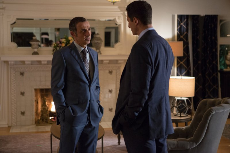 """GRIMM -- """"The Taming of the Wu"""" Episode 519 -- Pictured: Shaun Toub as Conrad Bonaparte -- (Photo by: Scott Green/NBC)"""