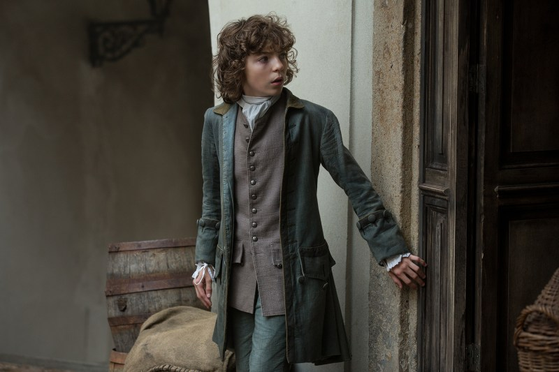 Look at this adorable little scamp! (Romann Berrux as Fergus)