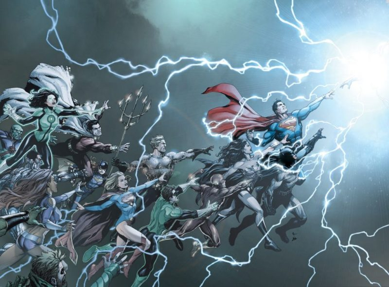 DC Universe: Rebirth #1 Cover Art by Gary Frank