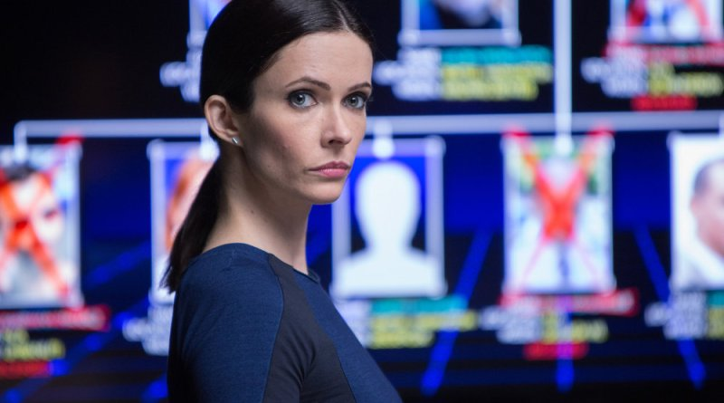 "GRIMM -- ""Bad Night"" Episode 520 -- Pictured: Bitsie Tulloch as Juliette Silverton -- (Photo by: Scott Green/NBC)"