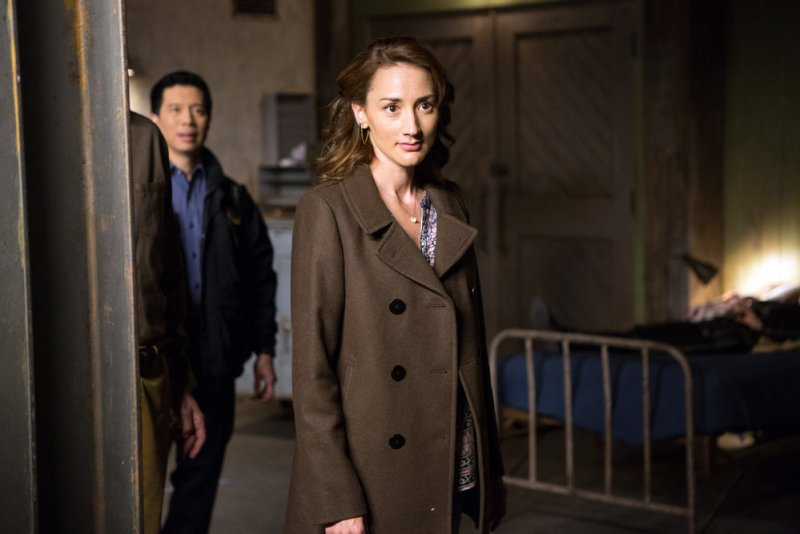 """GRIMM -- """"The Beginning of the End"""" Episode 522 -- Pictured: Bree Turner as Rosalee Calvert -- (Photo by: Scott Green/NBC)"""