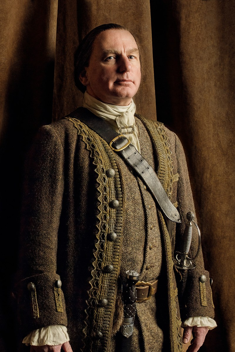 Poor Colum. Just trying to keep his family not dead. (Gary Lewis as Colum MacKenzie.)