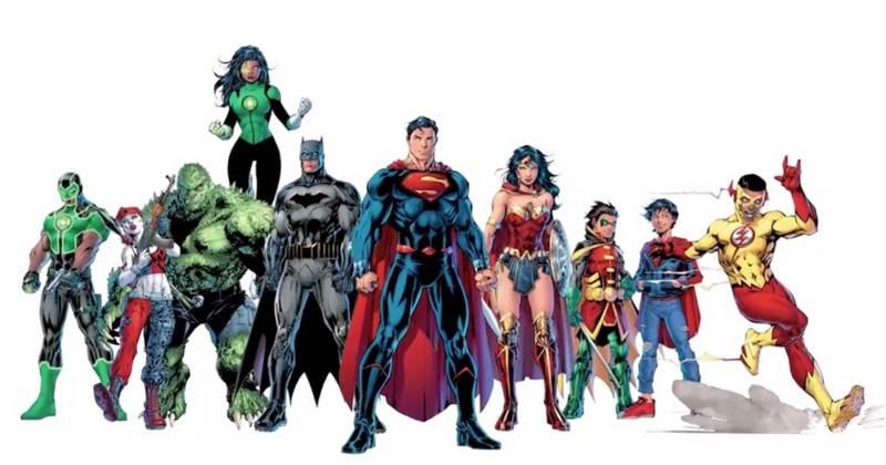 DC Comics Rebirth teaser art by Jim Lee