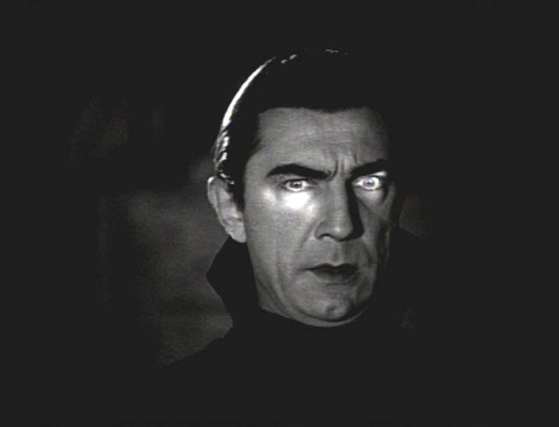 Bela Lugosi as the amazingly fabulous Dracula in 1931's Dracula. [Courtesy Wikimedia Commons.]