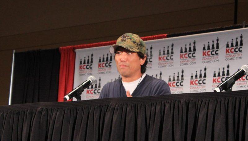 Actor Peter Shinkoda at Kansas City Comic Con