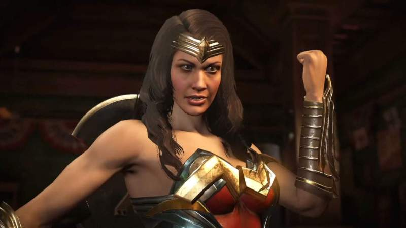 As a change from her Injustice 1 appearance, Wonder Woman will now be able to use all of her weapons at any time without swapping them out.