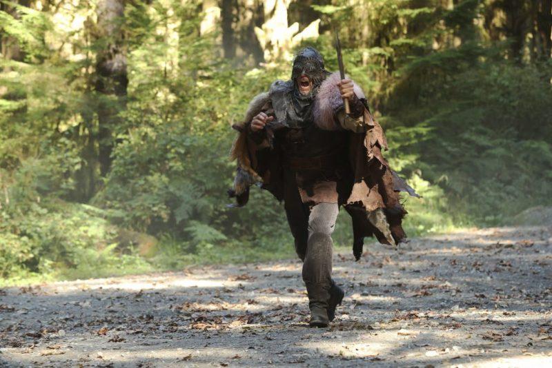 Woodcutter or bug-eyed barbarian cosplay? (ABC/Jack Rowand) PAUL JOHANSSON