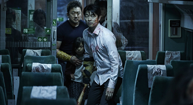 TRAIN TO BUSAN Pulls Into The English Station