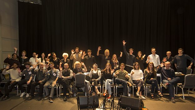 Photo of the cast. Used courtesy BBC Radio 4.