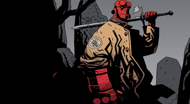 First Look at the New Hellboy and He Looks Amazing!