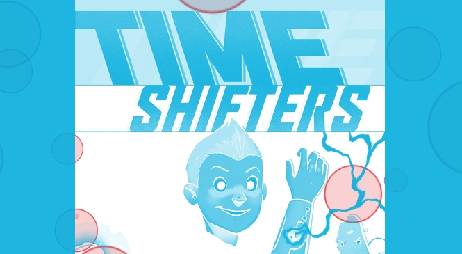 TIME SHIFTERS: A Fantastic All-Ages Graphic Novel With Heart