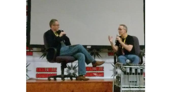 Smallville Comicon Panel: Paul T. Taylor