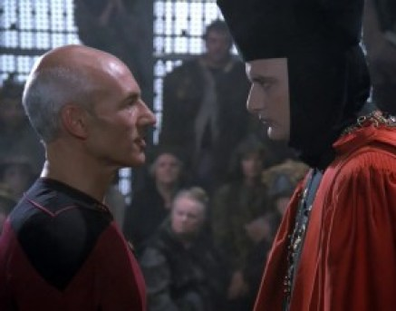 Star Trek The Next Generation - Captain Picard and Q