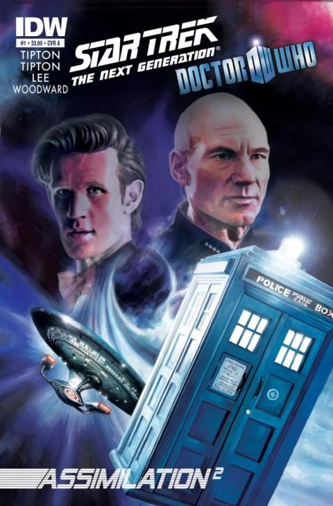 Dr Who Star Trek assimilation cover