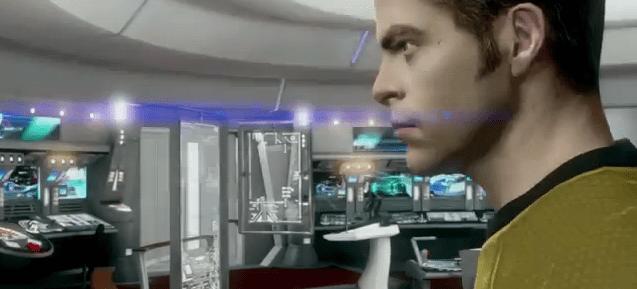 Star Trek Video Game - Captain Kirk (Chris Pine)