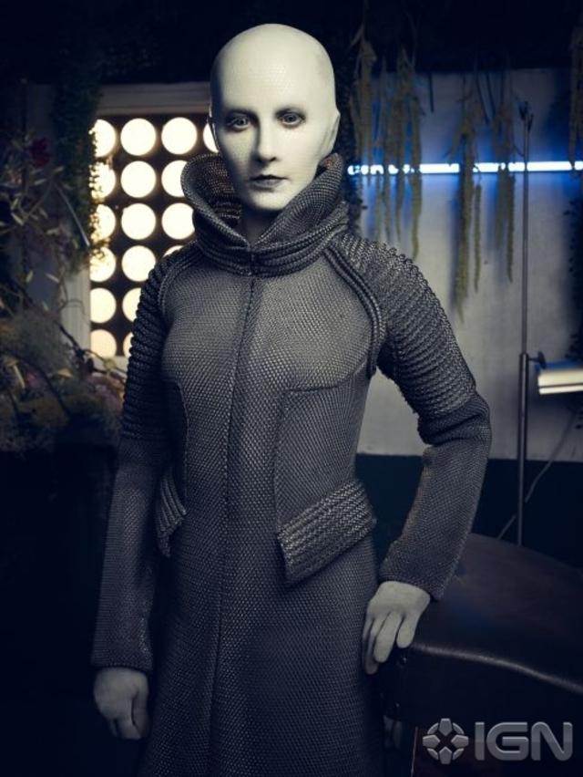 Trenna Keating as Doc Yewll - Defiance