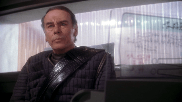 Colonel Grat played by Dean Stockwell - Enterprise - Detention