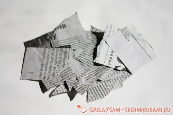 Sanomalehtien romut