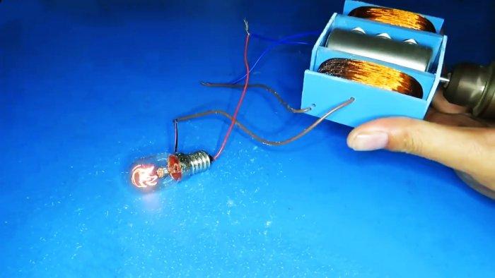 چگونه یک ژنراتور ساده برای 220V انجام دهید