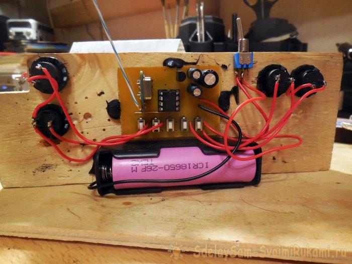 Как сделать гусеничную радиоуправляемую машинку