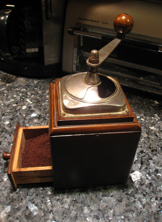 Antique-Coffee-grinder