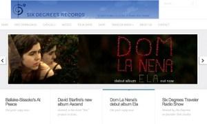 Six Degree's new Website