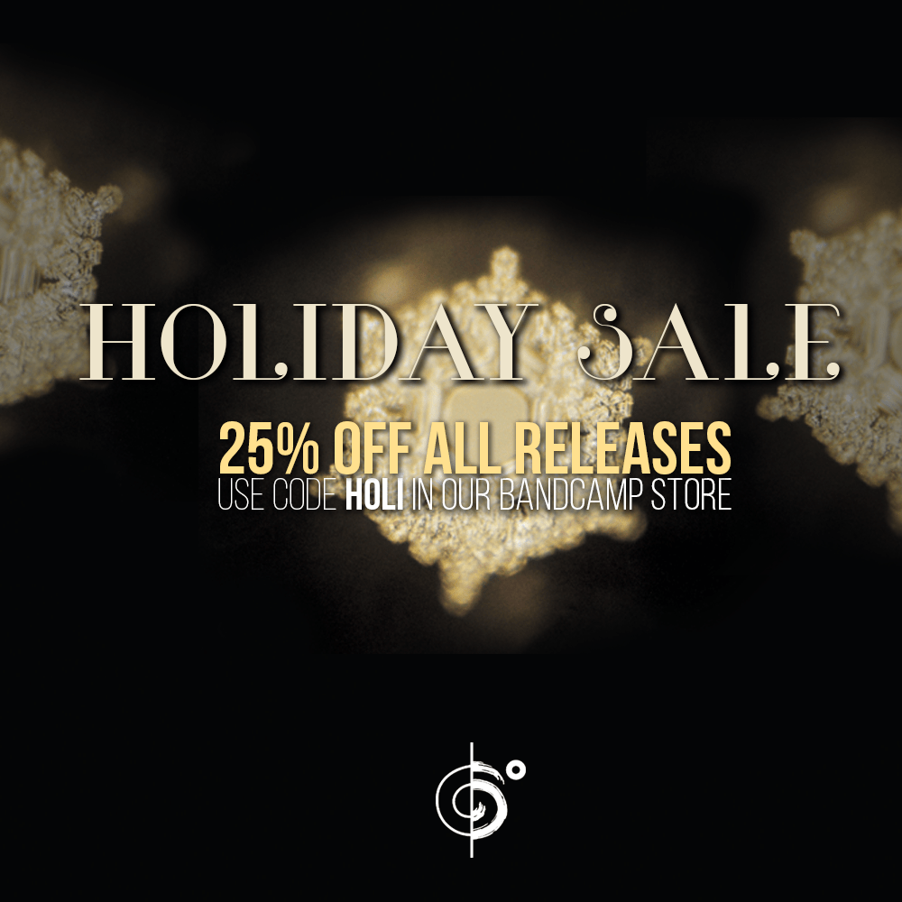 We Have A Holiday Sale Going On – 25% Off All Releases
