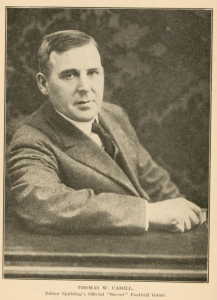 Thomas Cahill, founder of the American Soccer League. Image from www.archive.org