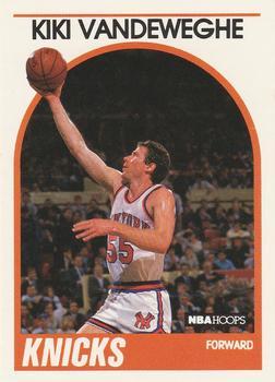 Kiki Vandeweghe, grandson of the New York National Giants owner Maurice Vandeweghe. Image: The Trading Card Database - www.tradingcarddb.com