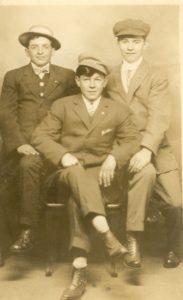 Portrait of Three young men