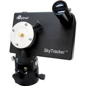 iOptron Skytracker with Polar scope for $299! Great option if you want to dip a toe into astrophotography and already have a camera, tripod, and some lenses. Also a great light weight travel option. I recently bought one of these, and so far have a positive impression.
