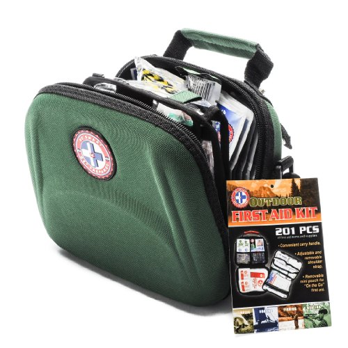 OUTDOOR-FIRST-AID-KIT-201-PC-FOR-CAMPING-BOATING-FISHING-HUNTING-0